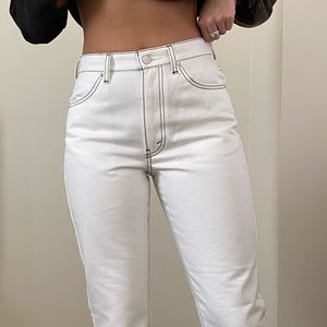Opening Ceremony crop flare jeans